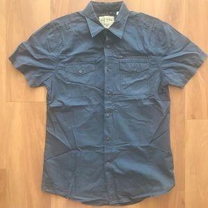 GUESS short sleeve button down collared shirt NWOT